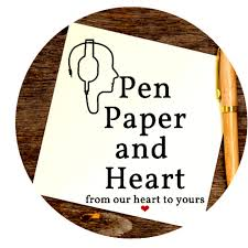 Pen paper and heart  🖋📜❤