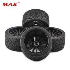 <b>4pcs</b>/<b>set 1/8 scale</b> on road bigfoot wheels tires&rims 17mm Hex fit ...