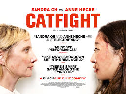 watch the uk trailer for catfight live for films struggling artist ashley anne heche and wealthy housewife veronica sandra oh were friends at college but their paths have not crossed since