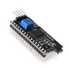 I2C Module for 16x2 (<b>1602</b>) <b>Character LCD</b> buy online at Low Price ...