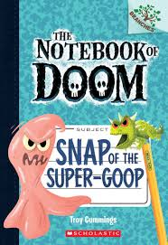 dad of divas reviews book review the notebook of doom snap book review the notebook of doom snap of the super goop