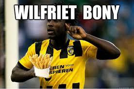 Wilfriet bony - ImaddB2 - quickmeme via Relatably.com