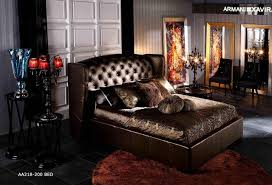 royal brown leather bed contemporary bedroom brown leather bedroom furniture