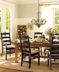 pottery barn style dining table: sushant table and chairs like this not so modern and formal dining room decor