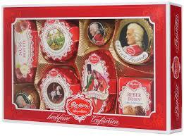 Reber <b>Mozart</b> подарочный <b>набор шоколадных конфет</b>, 285 г ...