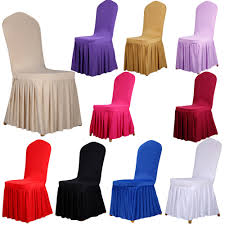 Stretch Dining Room Chair Covers Aliexpresscom Buy Spandex Stretch Dining Chair Cover Restaurant