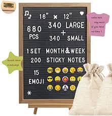 Felt Letter Board, Message Board, Changeable Letter ... - Amazon.com