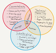 the conjoined triangles of senior level development our evaluation of seniority does in fact roll up to the higher definition how much direction will this person need and how much will they be able to