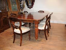 cm gustavian mahogany extendable dining table mahogany victorian dining table set balloon back chairs suite