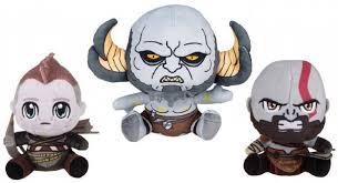 <b>Мягкая игрушка God of</b> War Kratos, Atreus, Troll- набор из 3 шт ...