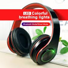 <b>B39</b> Colorful LED Headphone Portable <b>Folding</b> Built in FM ...
