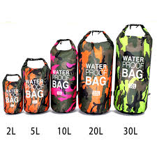 <b>PVC Camouflage Waterproof Backpack</b> Portable Outdoor Sport ...
