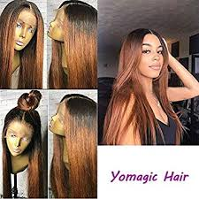 Amazon.com : Human Hair Straight full lace wig <b>100</b>% <b>Real</b> ...