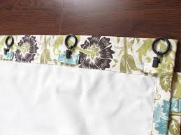 Hidden Tab Curtains Our Nesting Ground Lined Curtain Panels And Tie Back Tutorial