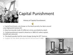 capital punishment power point