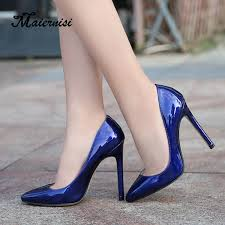MAIERNISI <b>newest sexy high heel</b> shoes pointed toe woman pumps ...