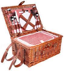 <b>Набор для пикника</b> Kuchenland Box Picnic 40х28х20 см <b>4</b> перс 24 ...