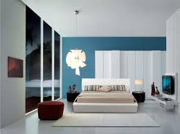 fabulous design interior apartment bedroom ideas with white and blue color walls coalso modern master bed placed in front of wall mount lcd tv 1120x838jpg apartment bedroom furniture