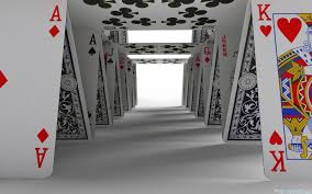 Image result for building a house of cards