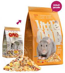 Купить <b>Корм</b> для грызунов <b>Little One</b> для крыс 400г с доставкой на ...