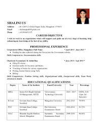 resume shalini us