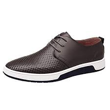 SSUPLYMY-Mens <b>Loafers</b> Flat <b>Shoes</b> Casual Oxfords Lace up ...