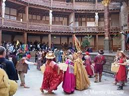 dancing inside the globe theatre Primary Homework Help