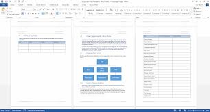 disposition plan template ms word instant disposition plan ms word red theme