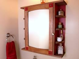 Rustic Wood Medicine Cabinet How To Build A Bathroom Medicine Cabinet How Tos Diy