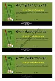 golf gift certificate template microsoft word templates golf gift certificate