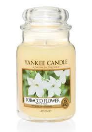 <b>Ароматическая свеча</b> Yankee Candle Tobacco <b>Flower</b> / Цветок ...