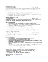 technical support resume sample   sales   technical   lewesmrsample resume  resumes deskstop support specialist resume sle
