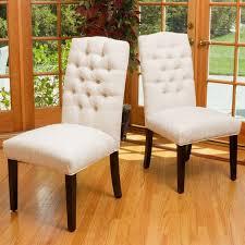 GDF Studio Clark Soft Fabric <b>Dining Chairs</b>, Set of <b>2</b> - Transitional ...