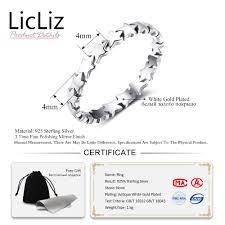 <b>LicLiz</b> 2019 <b>Simple 925</b> Sterling <b>Silver</b> Chevron V Shape Ring for ...