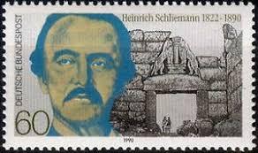 Resultado de imagem para Heinrich Schliemann