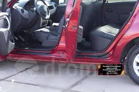 <b>Накладки на внутренние пороги</b> дверей Renault Sandero 2009 ...
