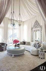 living room with sheer fabric tented beautiful living rooms