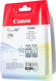 Купить <b>Картридж CANON PG</b>-<b>510</b>/CL-511, многоцветный ...