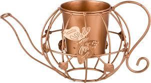 """<b>Кашпо Lefard</b> """"Чайник"""", цвет: бронзовый, 20 х 33 х 17 <b>см</b> - купить ..."""