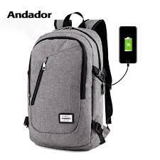 Fashion man <b>laptop backpack usb charging</b> computer backpacks ...