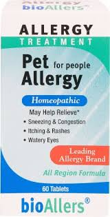 BioAllers Pet Allergy Treatment For People, 60 Tablets - City Market