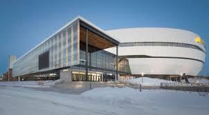 sports architecture archdaily videotron centre Équipe sagp populous