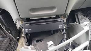 How to Remove DVD Player from Honda Odyssey 2005 for Repair ...