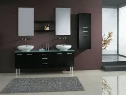 grey bathroom double vanity city gate