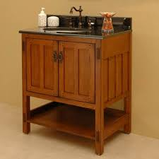 arts crafts bathroom vanity:  inch double sink bathroom vanity