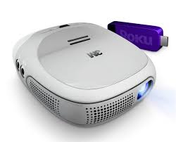 Portable And In Your Hand   Roku Streaming Projector