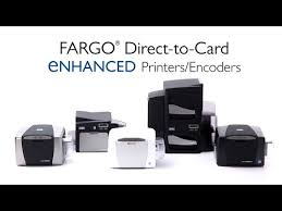 <b>HID FARGO's</b> Direct-To-Card Printers - YouTube