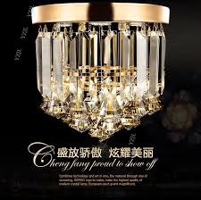 D23CM corridor ceiling light ceiling light crystal porch ceiling lamp ...