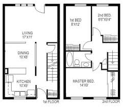 images about FLOOR PLANS URBAN ROWS on Pinterest   Square     bedroom square foot house plans   Google Search