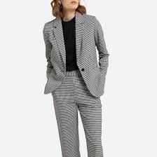 <b>Куртка</b>-блейзер с принтом виши в клетку <b>La Redoute</b> Collections ...